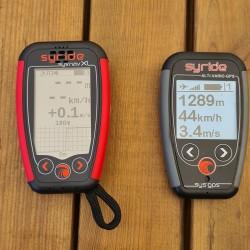 Comparatif de taille avec le SYS GPS